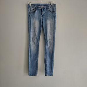 H&M Denim Super Skinny Low Waist Jeans Size 30